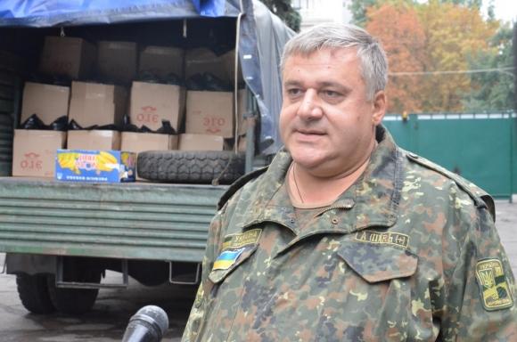 Ещё живой и здоровый Саакян в зоне карательной операции киевских путчистов