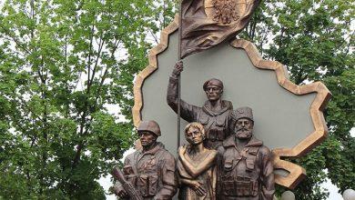 Photo of Киевские террористы взорвали памятник «Они отстояли Родину»