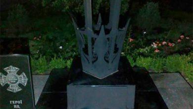 Photo of По всей Украине патриоты выражают своё отношение к памятникам карателям