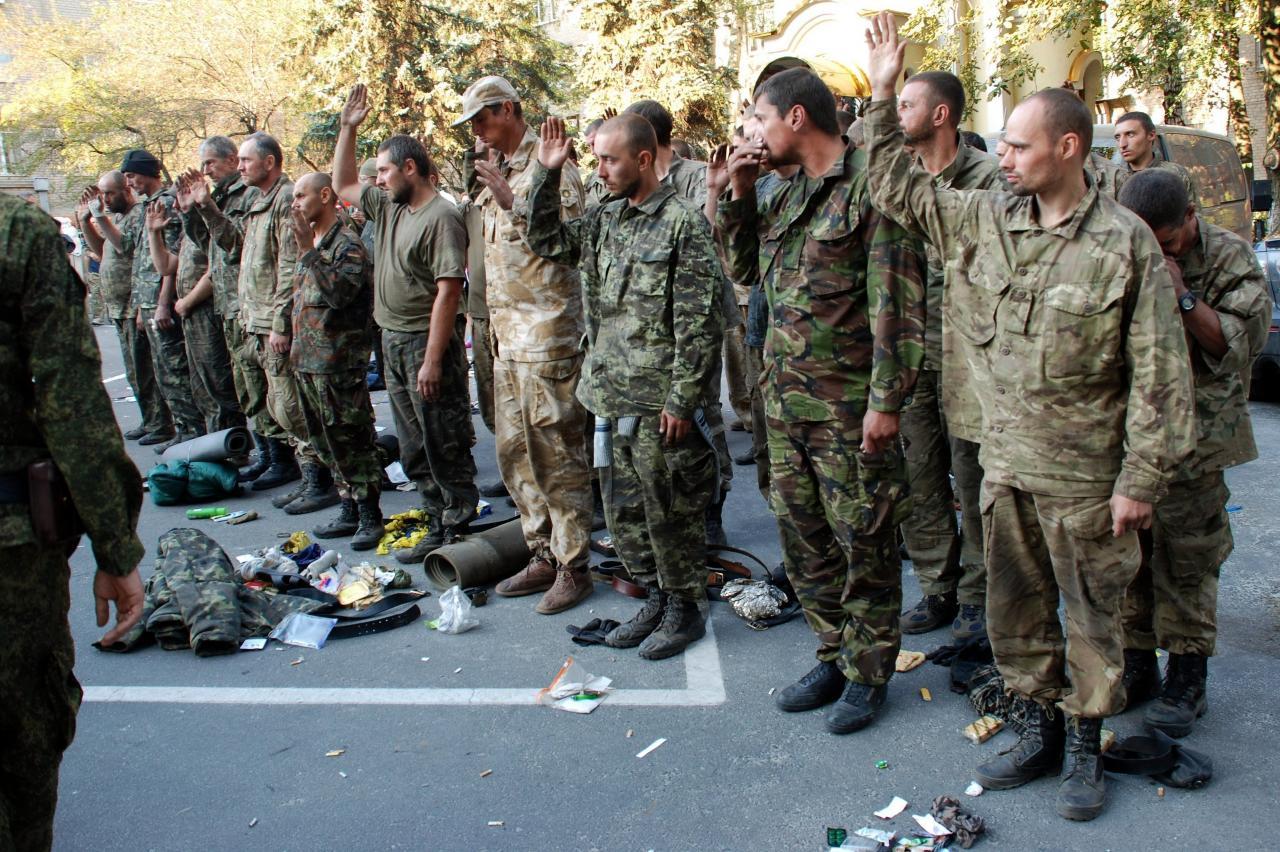 Пленные киевские каратели