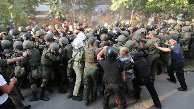 Photo of У жёлто-голубых фашистов бомбануло: в Ильичёвске массовые беспорядки