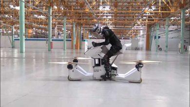 Photo of Полиция Дубая испытала российский летающий мотоцикл