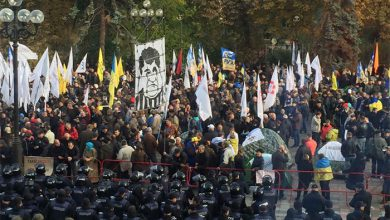 Photo of «Мандариновая революция»: первая ночь