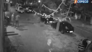 Photo of Покушение на Мосийчука с камеры видеонаблюдения