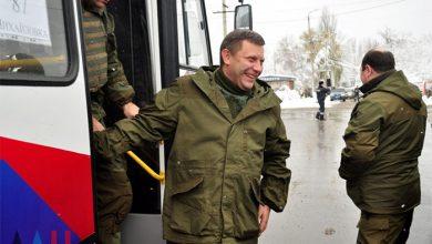 Photo of Глава ДНР проехал на автобусе «Донбасс» в Горловке