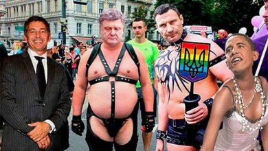 Photo of Удивляются даже сообщники путчистов: содомиты и моральные уроды правят Украиной