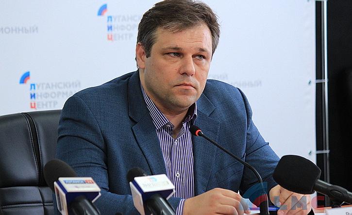 Родион Мирошник, представитель ЛНР на переговорах в Минске