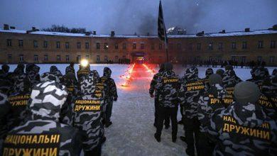 Photo of Национальные жёны провели факельное шествие в стиле III-го рейха