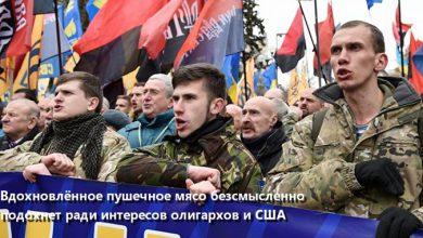 Photo of Украинских нацистов погонят на позиции антифашистов?