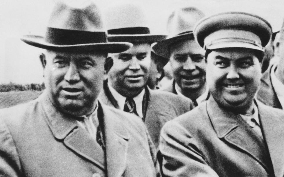 Хрущёв и Маленков