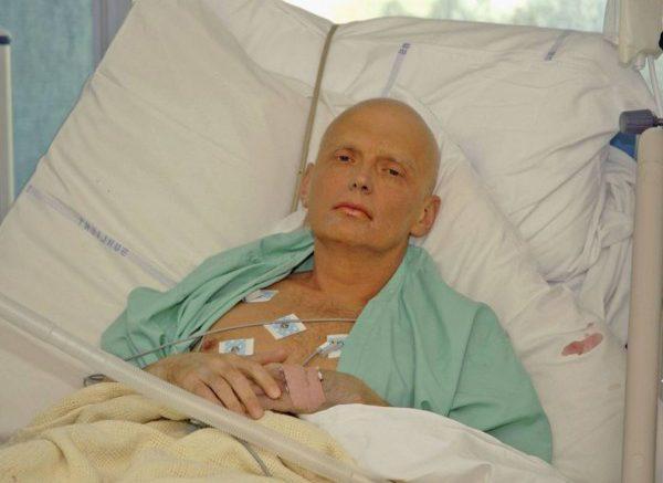 Александр Литвиненко, отравленный британскими спецслужбами российский предатель