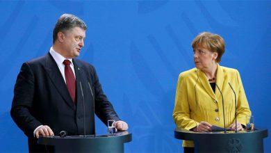 Photo of Порошенко – Меркель: дайте денег на мир. Ради войны?