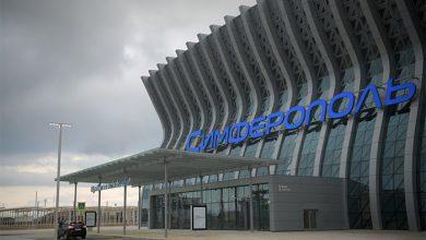Photo of Новый терминал аэропорта Симферополь встретил первый самолёт