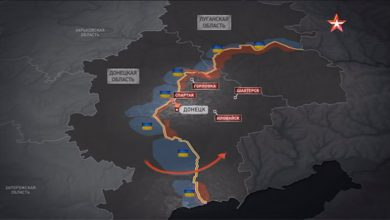 Photo of Опубликована карта возможного наступления карательной армии рагулей на Донбасс