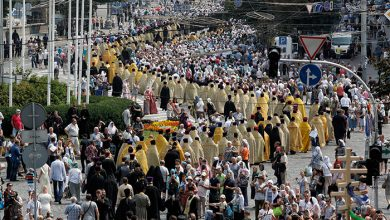 Photo of В Киеве, в Крестном ходе приняло участие четверть миллиона верующих