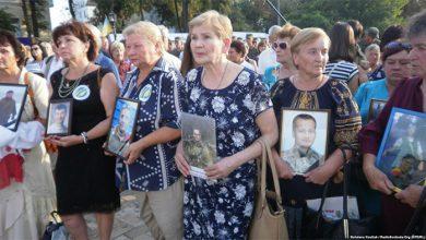 Photo of В Киеве плачем, стонами и фашистским гавканьем отметили разгром под Иловайском