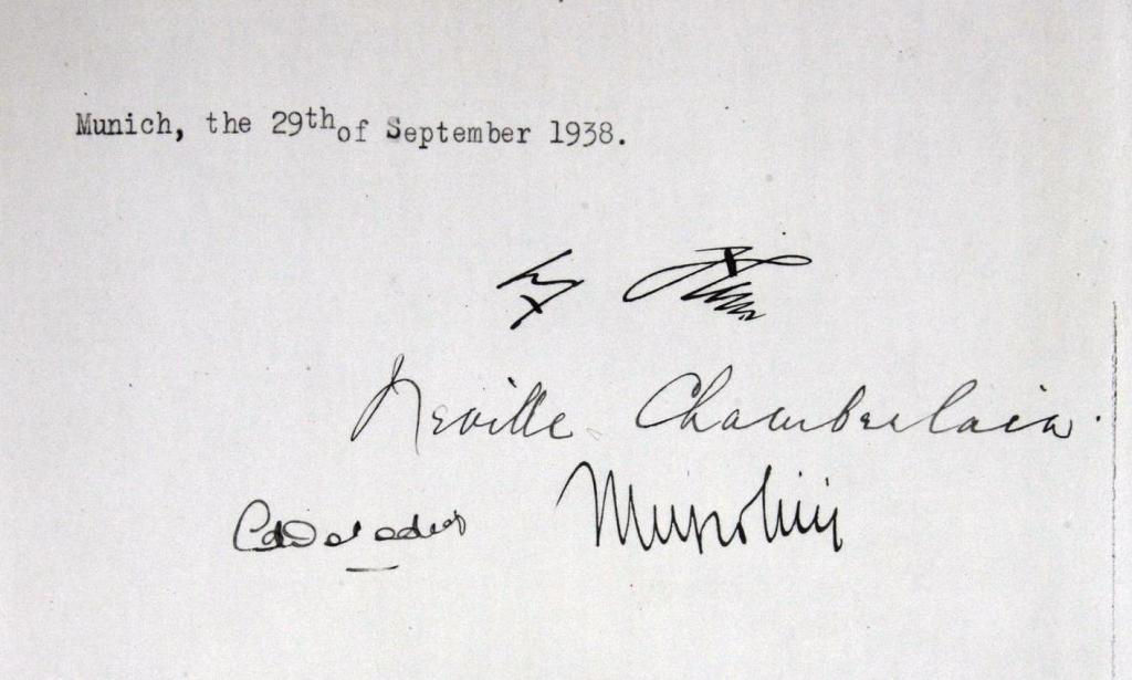 Подписи войны