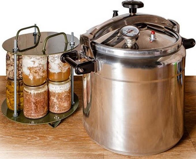 Выбираем автоклав для домашнего консервирования: материал, объем, тип  нагревания | Досье - Киев