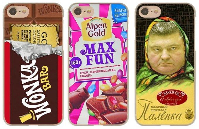 Китайцы продают чехлы имени шоколадного диктатора Украины