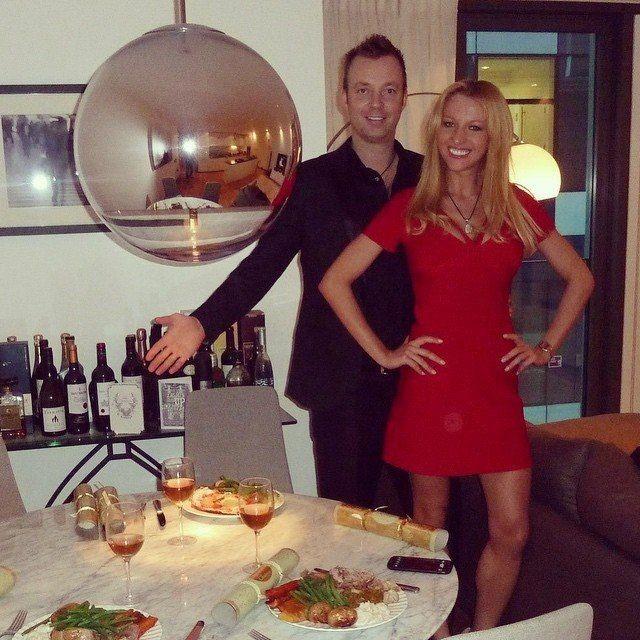 Модель Анна Шапиро с мужем Алексом Кингом