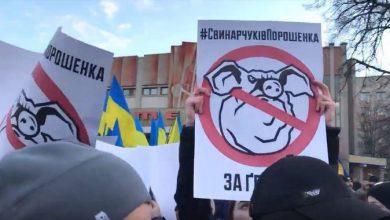 Photo of В Житомире диктатору опять испортили гастроль
