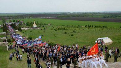 Photo of На легендарной Саур-Могиле почтили память борцов с нацизмом
