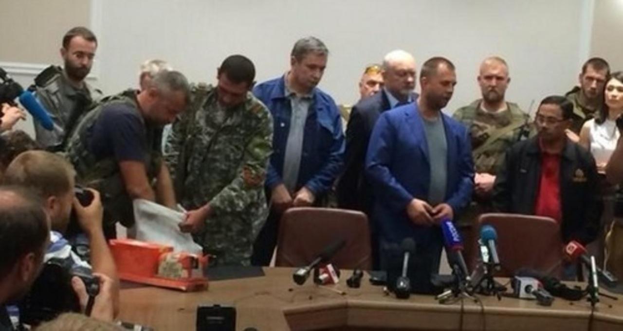 Антифашистское ополчение Донбасса передает