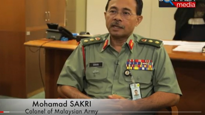 полковник Мохамад Сакри