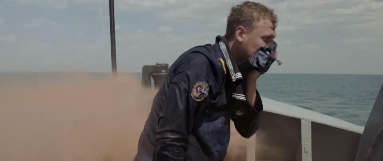 Кадр из фильма. «Кляти москали нас травили газом»...