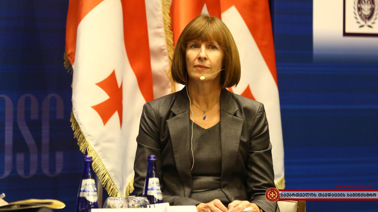 Врио посла США в Грузии Элизабет Радд