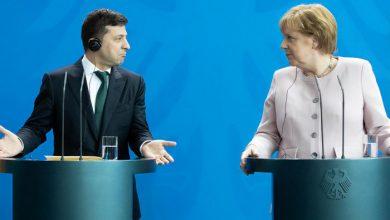 Photo of Трамп сдал Зеленского перед Меркель и Макроном