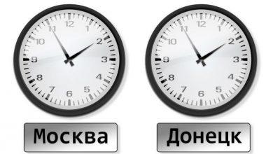 Photo of Донецк отказался переходить на киевское время