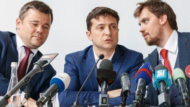 Photo of Банда Доктора Зло бросились на защиту Гончарука от «кассетного скандала»