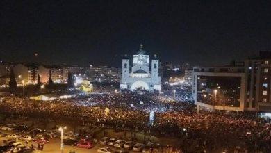 Photo of На защиту Церкви в Черногории вышли сотни тысяч людей