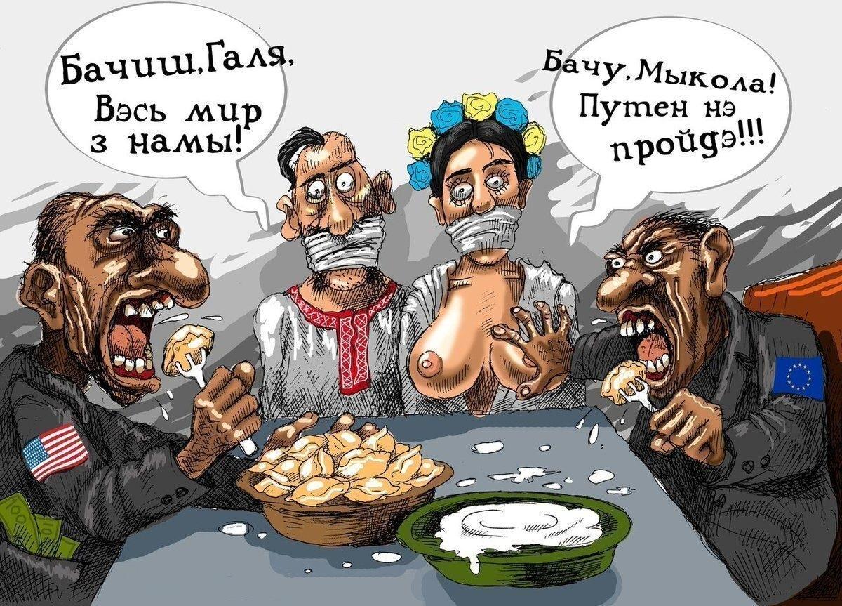 New Europe даёт инструкции Зеленскому по Украине о том, как сделать англосаксонским оккупантам хорошо